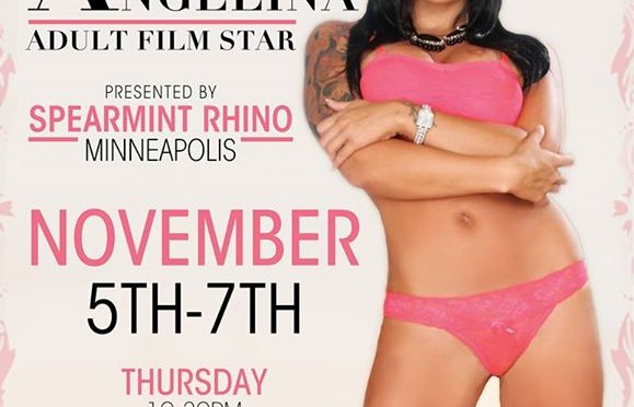 Eva Angelina in Minneapolis