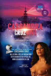 Cassandra Cruz Live