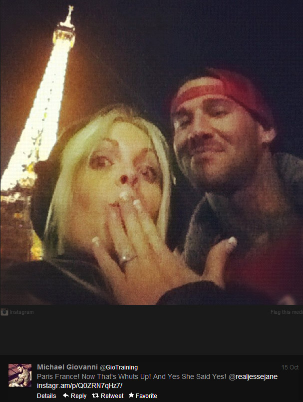 Jesse Jane Engaged - 1