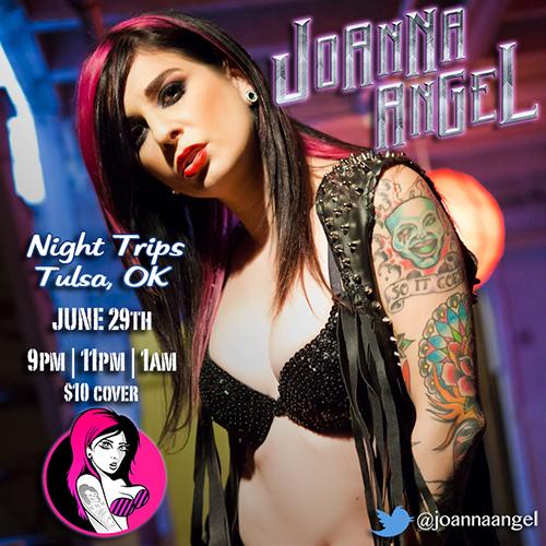 Joanna Angel Tulsa Oklahoma