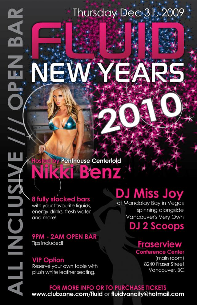 Nikki Benz New Year