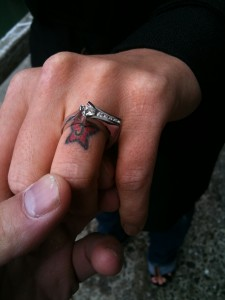Teagan Presley Engagement Ring