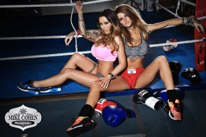 Gemma Massey from January 2014 with Jemma Lucy