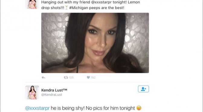 Kendra Lust Claims to be Friends with XXX Star PR but truth is …………