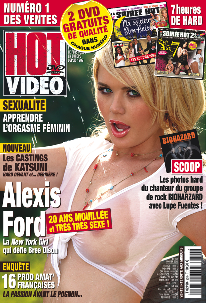 ... covers of France's premiere adult publication, Hot Video Magazine, ...